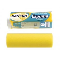 CASTOR ROLO ESPUMA 23CM COD:031 AMARELO