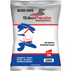 GESSO LENTO 1KG SÃO PAULO